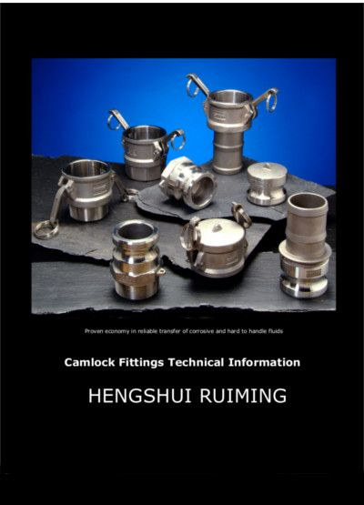 This is hengshui ruiming's catalog of camlock coupling